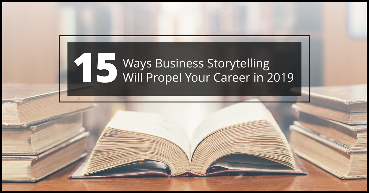 15 reasons for business storytelling