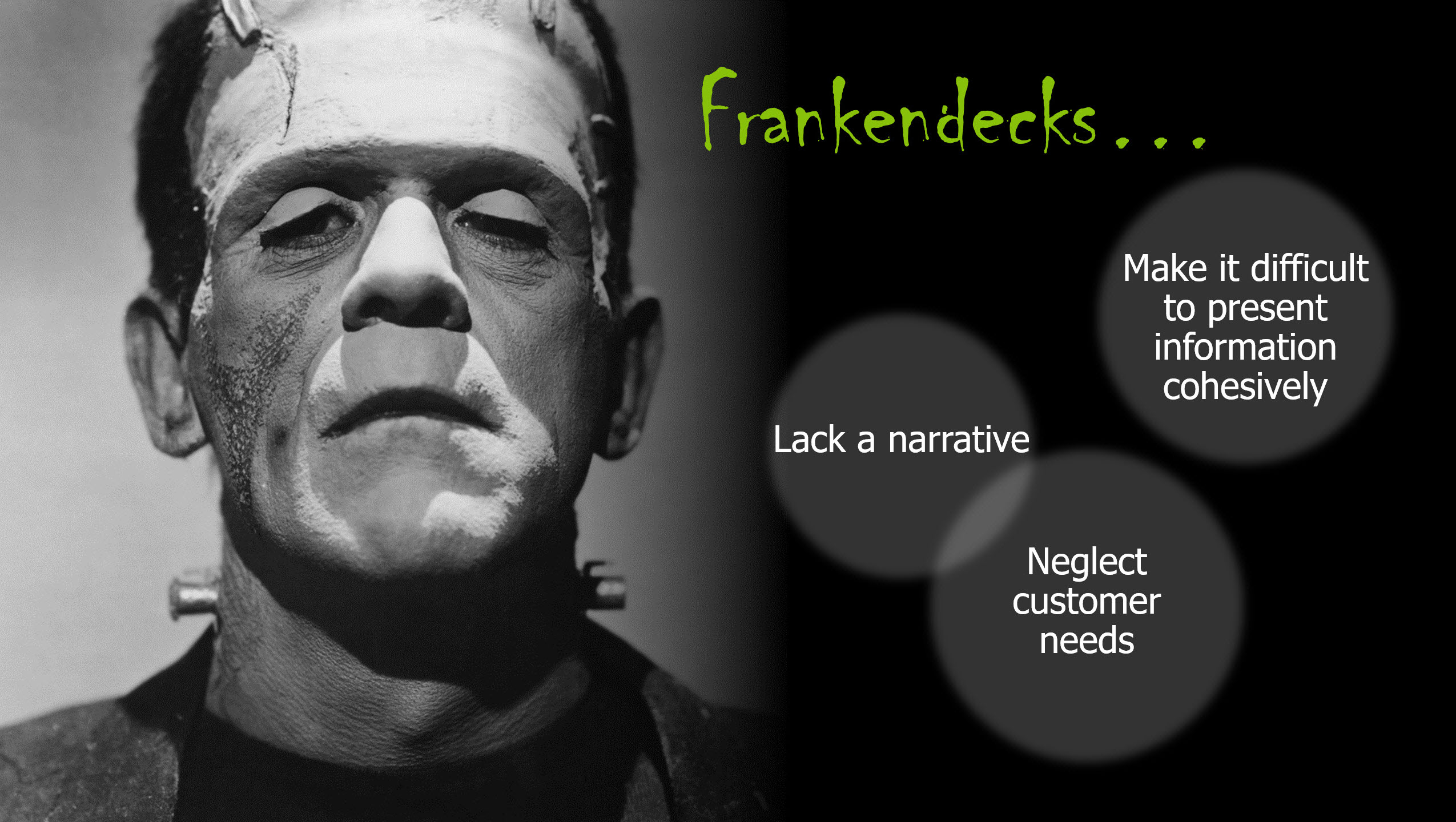 Frankendecks - bad PPT presentations