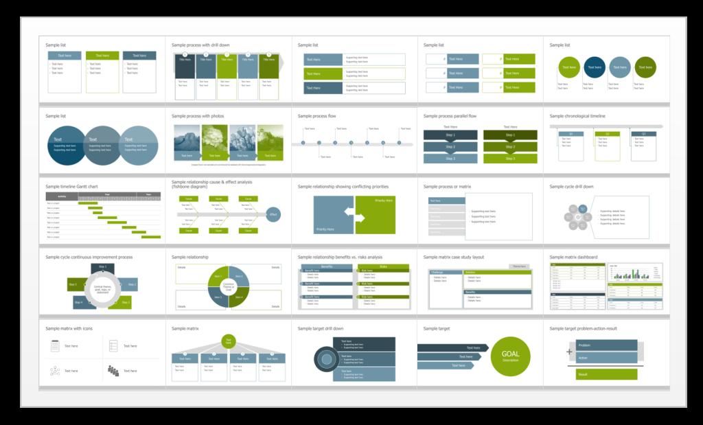 TPC's Visual Slide Library