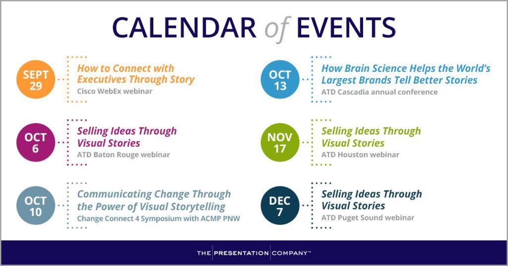 TPC Fall 2016 Calendar of Events