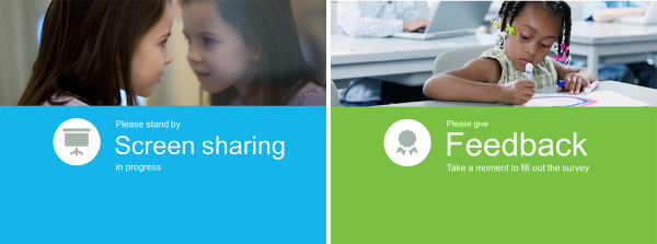 WebEx Interactivity Tools - feedback and screen sharing