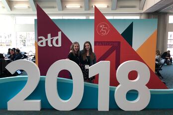 Lauren Kuykendall and Melony Bravmann at ATD 2018