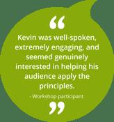 Corporate Storytelling Training Testimonial