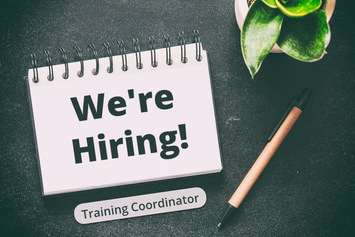 Were Hiring_Training Coordinator