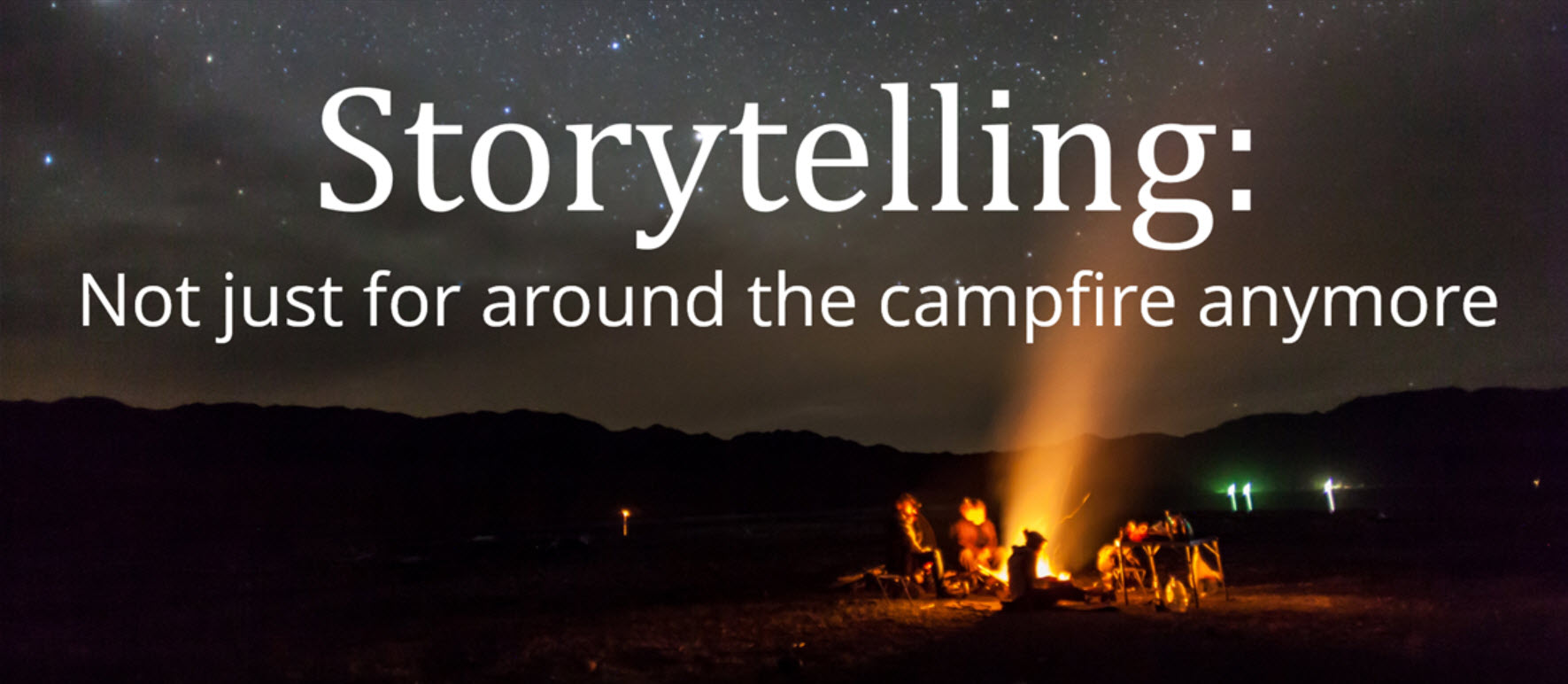 Corporate storytelling for work